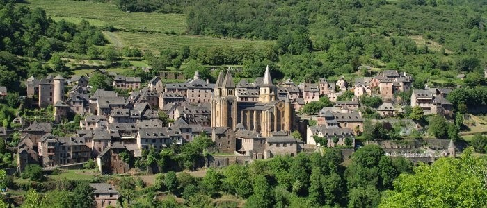2018 Auvergne Cantal Conques Panorama