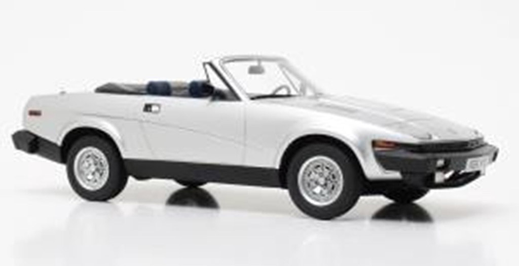2017 Miniatures TR7 Silver