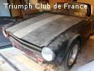 A vendre Triumph TR6 US Carburateur 1969