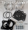 Kit cales rigides carburateurs TR7 et Dolomite