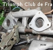 Kit cales rigides carburateurs TR7 et Dolomite